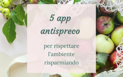 5 app antispreco per rispettare l'ambiente risparmiando